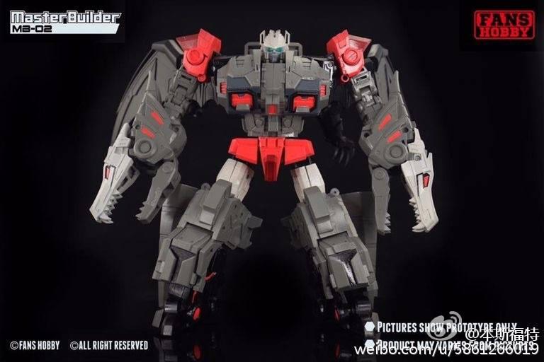 [FansHobby] Produit Tiers - Master Builder MB-02/03/05 - aka Monsterbots/Monstrebots 7PzstB15