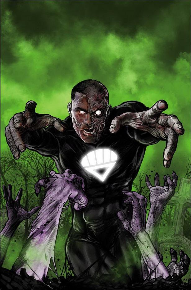 Vuelven los muertos vivientes a Green Lantern Corps nº35 por Mikel Lanin
