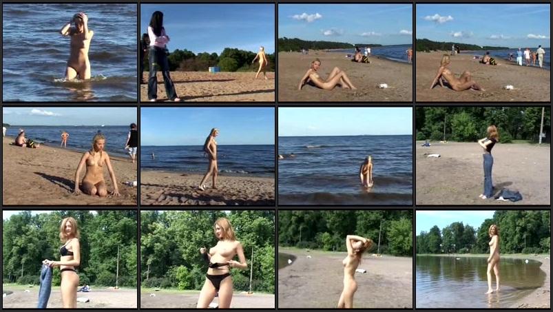 Beaches teens families nudists