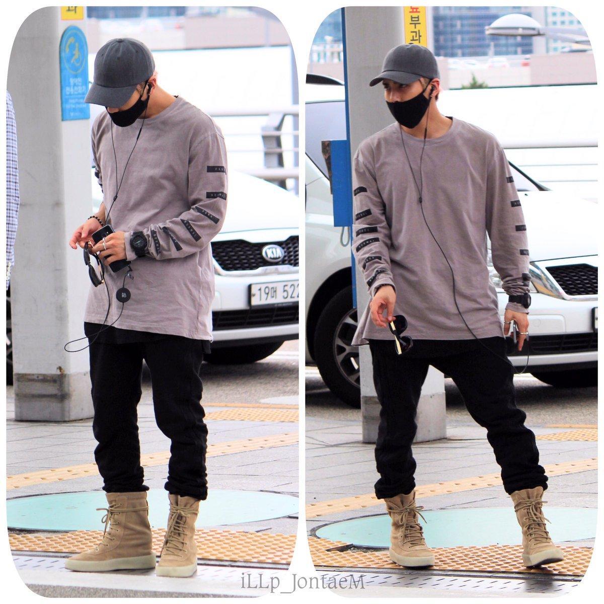 [IMG/160715] Jonghyun, Key @ Aeropuerto Incheon hacia Japón. KCMc4gOl