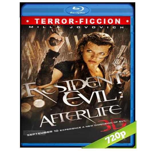 descargar Resident Evil 4 La Resurreccion HD720p Lat-Cast-Ing 5.1 (2010) gratis