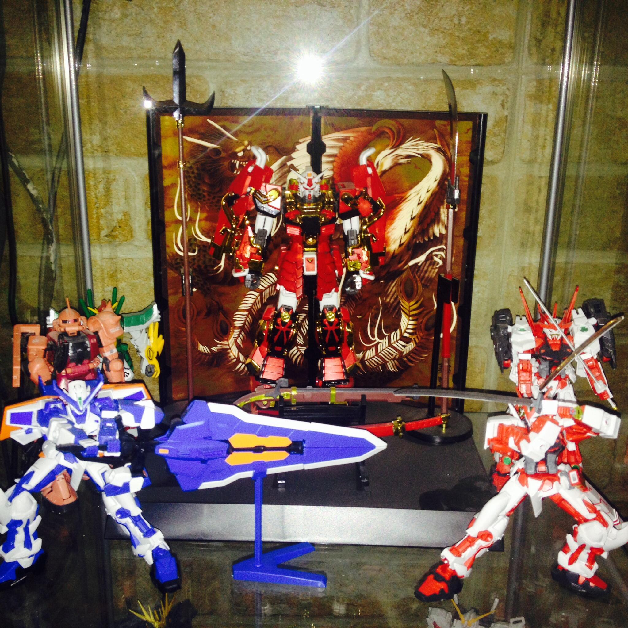 The En2o83 Gunpla collection