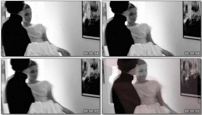 Эмма Уотсон (Emma Watson) засвет груди в прозрачном платье, для журнала Vogue, Великобритания