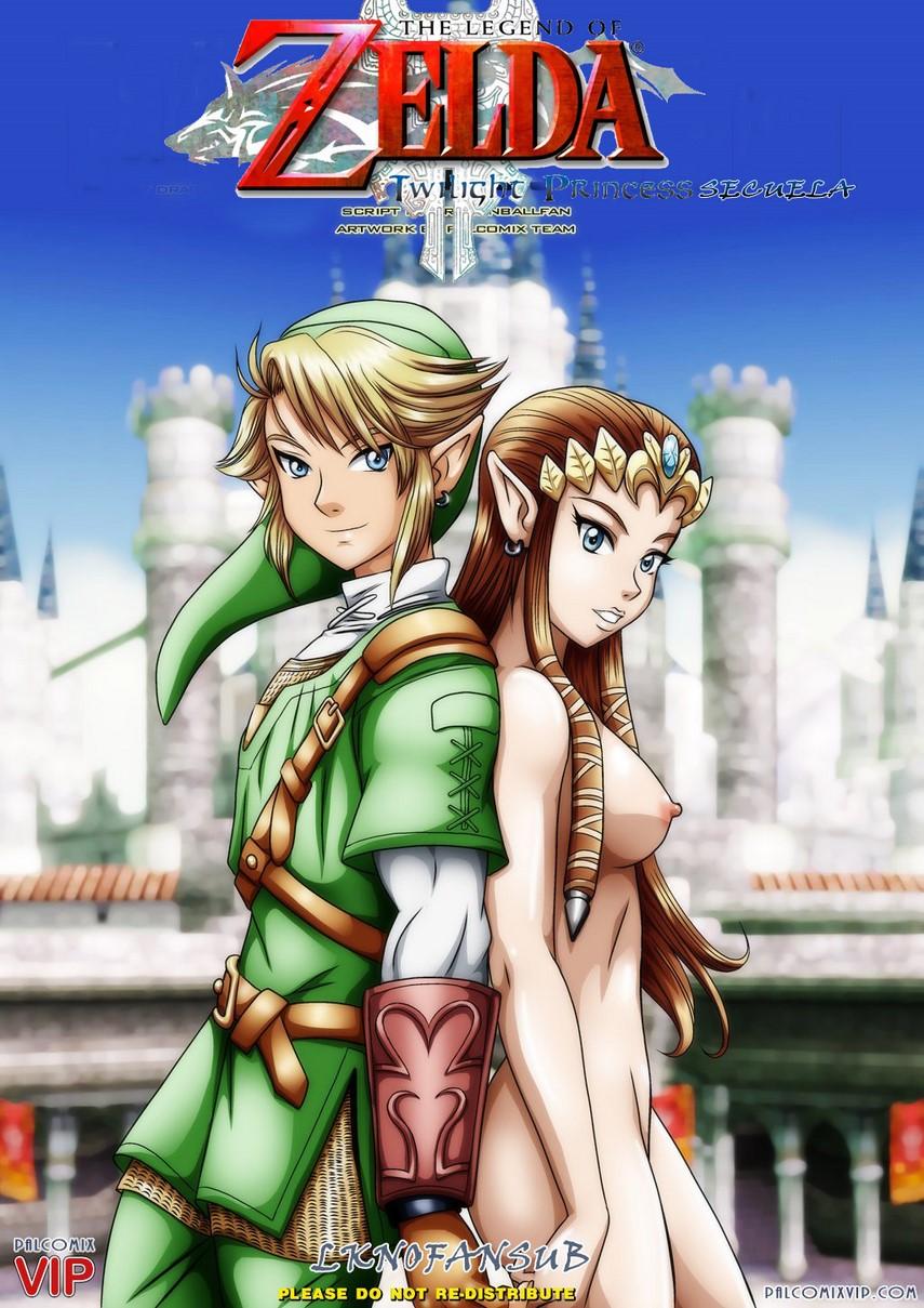 Cómic porno de la leyenda de Zelda