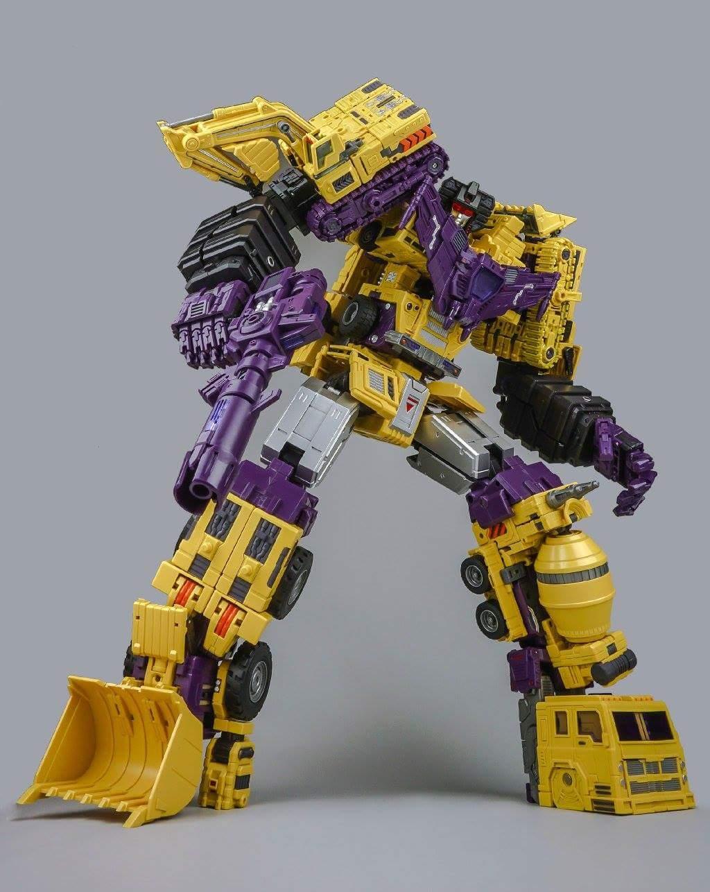 [Toyworld] Produit Tiers - Jouet TW-C Constructor aka Devastator/Dévastateur (Version vert G1 et jaune G2) - Page 8 P4ao9Mw8