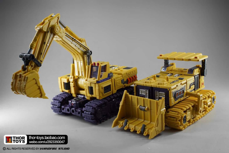 [Toyworld] Produit Tiers - Jouet TW-C Constructor aka Devastator/Dévastateur (Version vert G1 et jaune G2) - Page 8 6ddDncKK