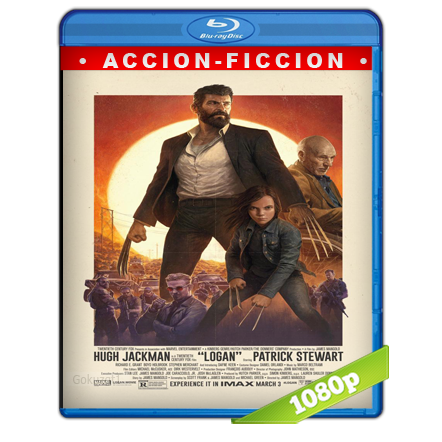 Logan Wolverine (2017) BRRip Full 1080p Audio Trial Latino-Castellano-Ingles 5.1