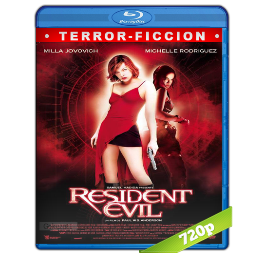 Resident Evil 1 El Huesped Maldito HD720p Lat-Cast-Ing 5.1 (2002)