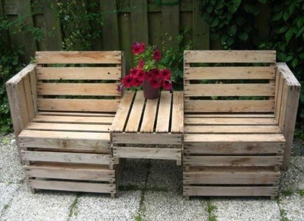 Ide kreatif dari kayu bekas Palet Jati Belanda