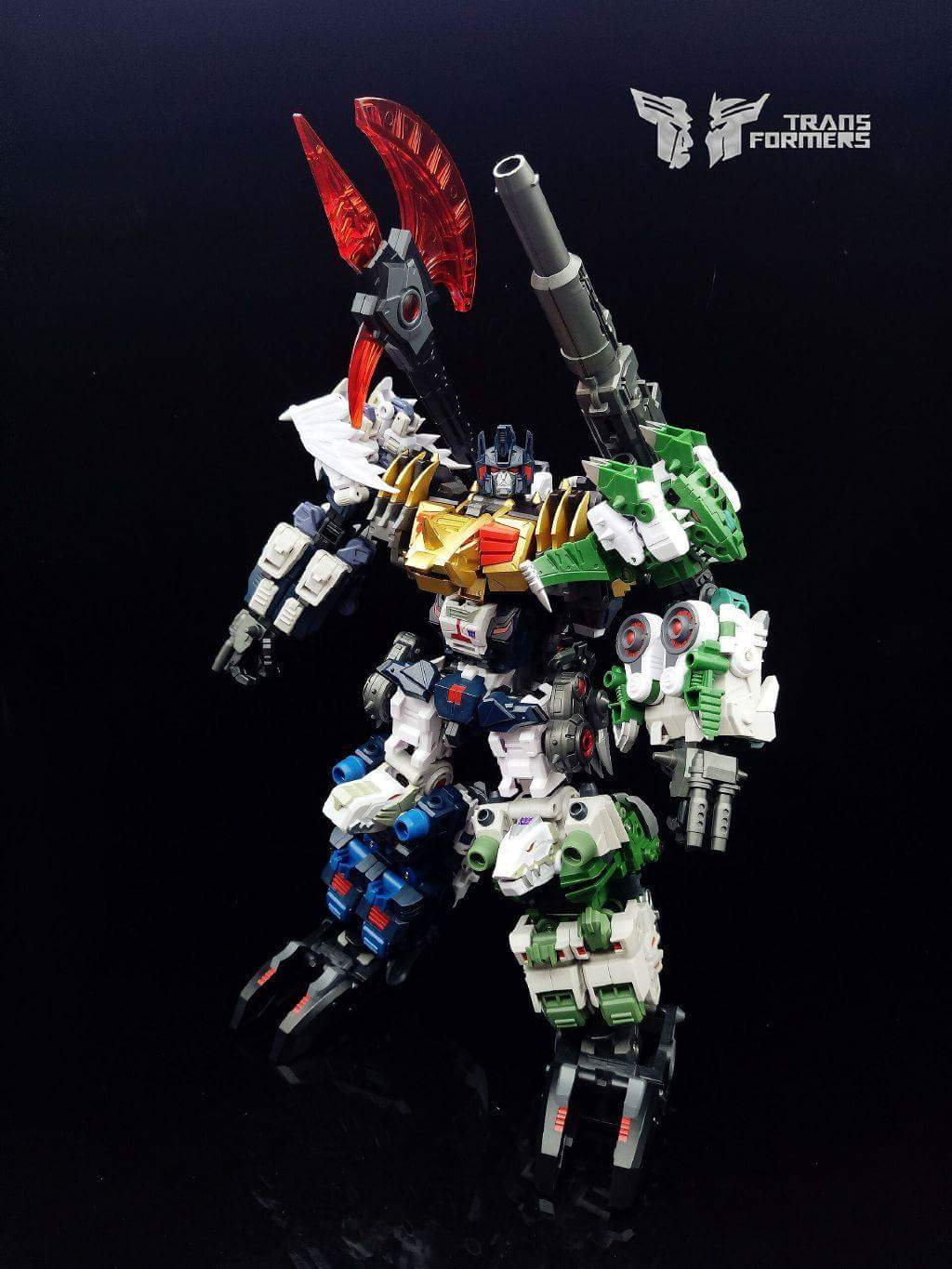 [FansProject] Produit Tiers - Jouet Saurus Ryu-oh aka Dinoking (Victory) | Monstructor (USA) - Page 2 Db1UzfXw