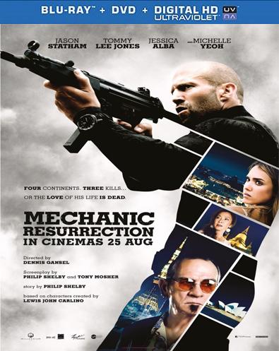 El mecánico resurrección (2016) HD 1080p Español Latino