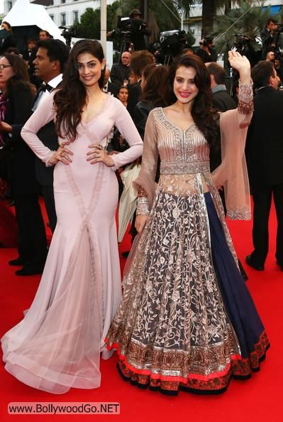 Amisha and Puja Gupta at All is Lost Premiere at Cannes Adckn2z0