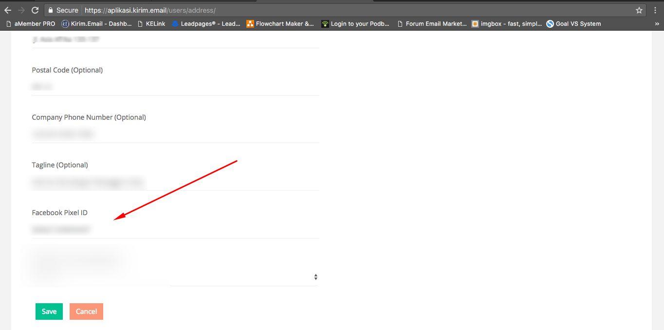 Tutorial Retargeting Facebook Pixel tanpa Website dengan KIRIM.EMAIL - 2