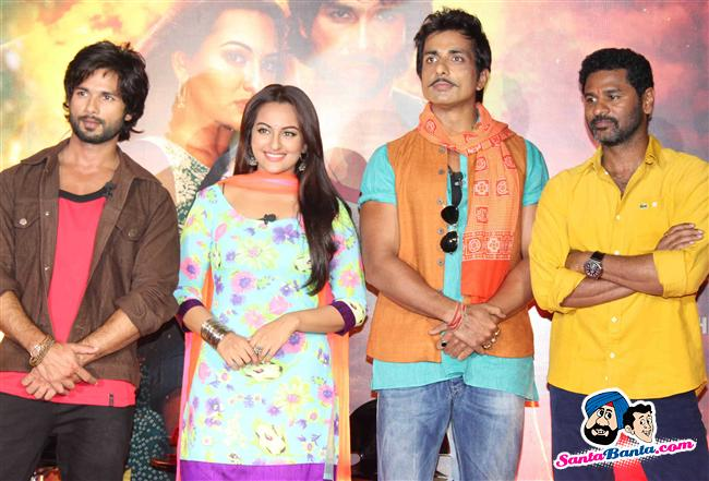 R Rajkumar Theatrical Trailer Launch AdkHnk85