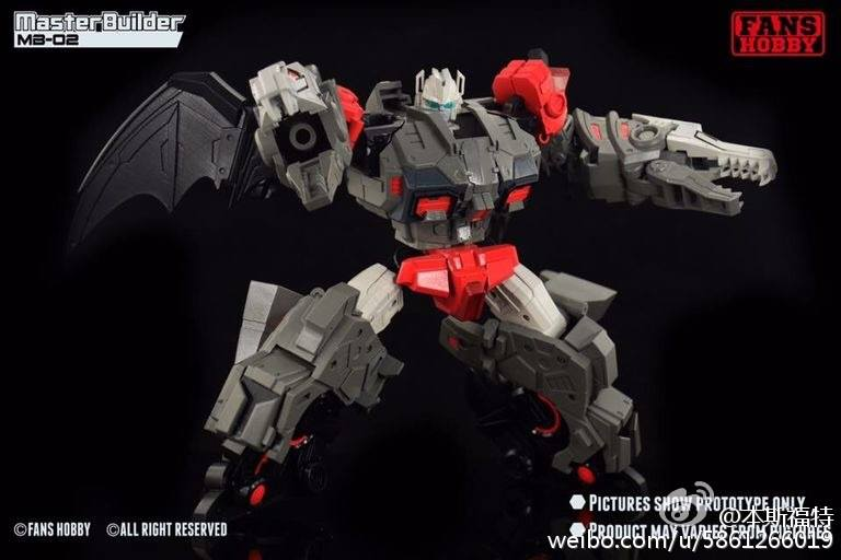[FansHobby] Produit Tiers - Master Builder MB-02/03/05 - aka Monsterbots/Monstrebots LY1BSS7U