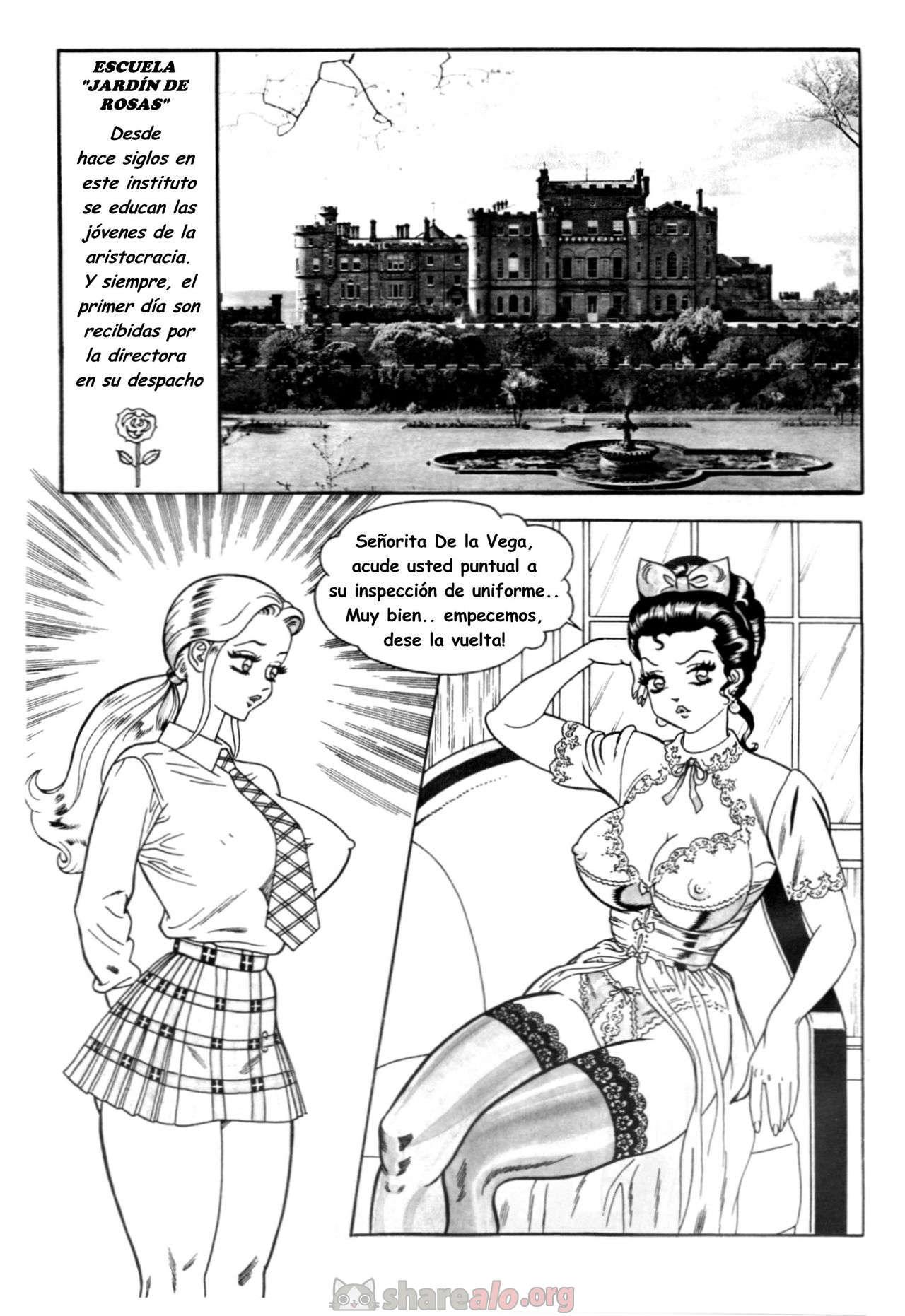 [ Escuela de Señoritas (Jardín de Rosas Manga Hentai) ]: Comics Porno Manga Hentai [ TRJDATqo ]