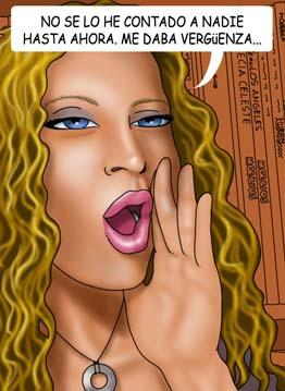 Cómics porno del Diario de Una Dibujante de Comics Porno