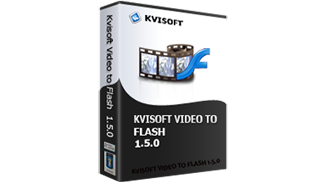 ����� �������� ����� ������� ��� ���� Kvisoft Video To Flash Converter 1.5.2