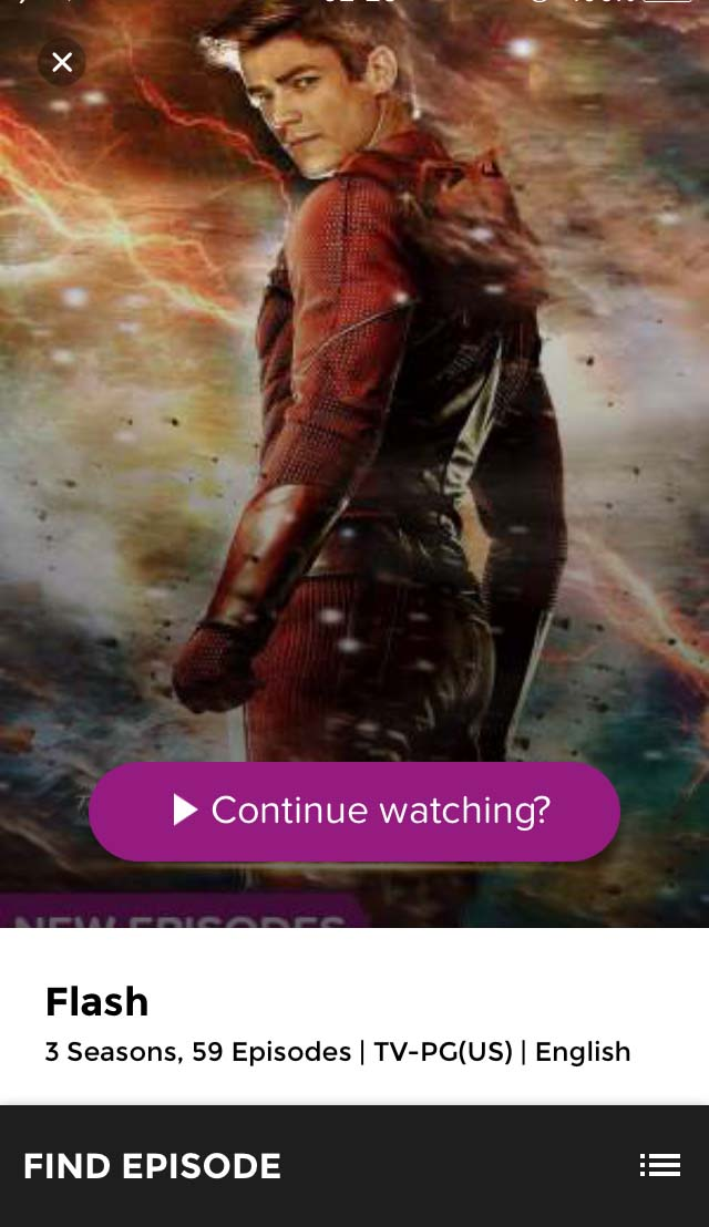 serial tv flash di aplikasi hooq