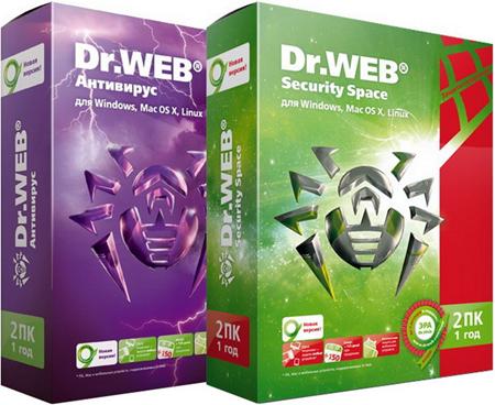 Dr.Web Anti-virus & Security Space 11.0.3.8250 Multilingual