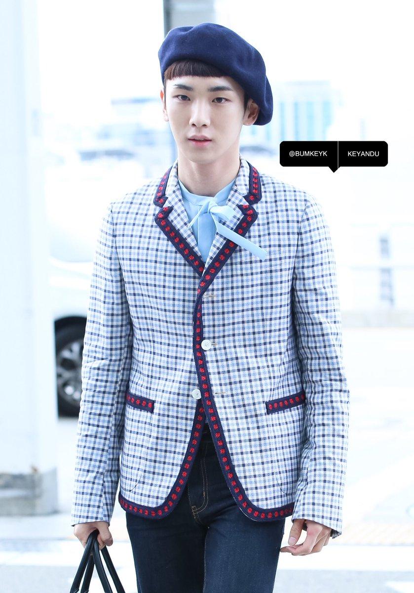 [IMG/160715] Jonghyun, Key @ Aeropuerto Incheon hacia Japón. 85vMFw6B