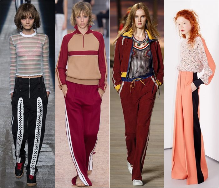 Sport style pants spring/summer 2016