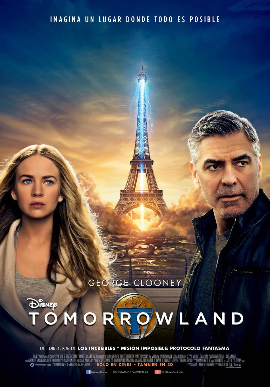Tomorrowland, el mundo del mañana [DVDRip] [Latino] [1 Link] [MEGA]