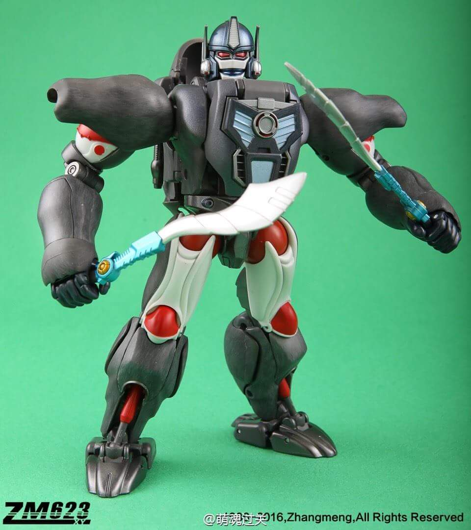 [Masterpiece] MP-32, MP-38 Optimus Primal et MP-38+ Burning Convoy (Beast Wars) - Page 3 OBSlCPc2