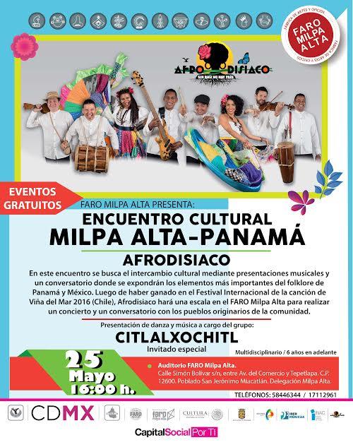 El color de Panamá llegará al Faro Milpa Alta a trav&eacu