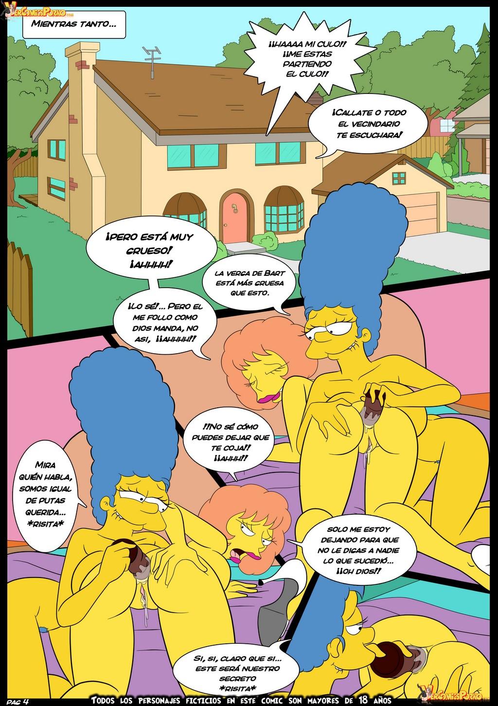 simpson porno de bart Comic