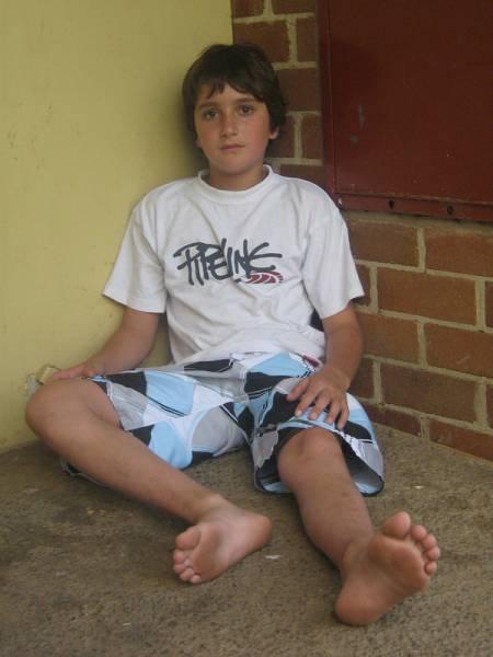 boys will be boys barefoot teen boy