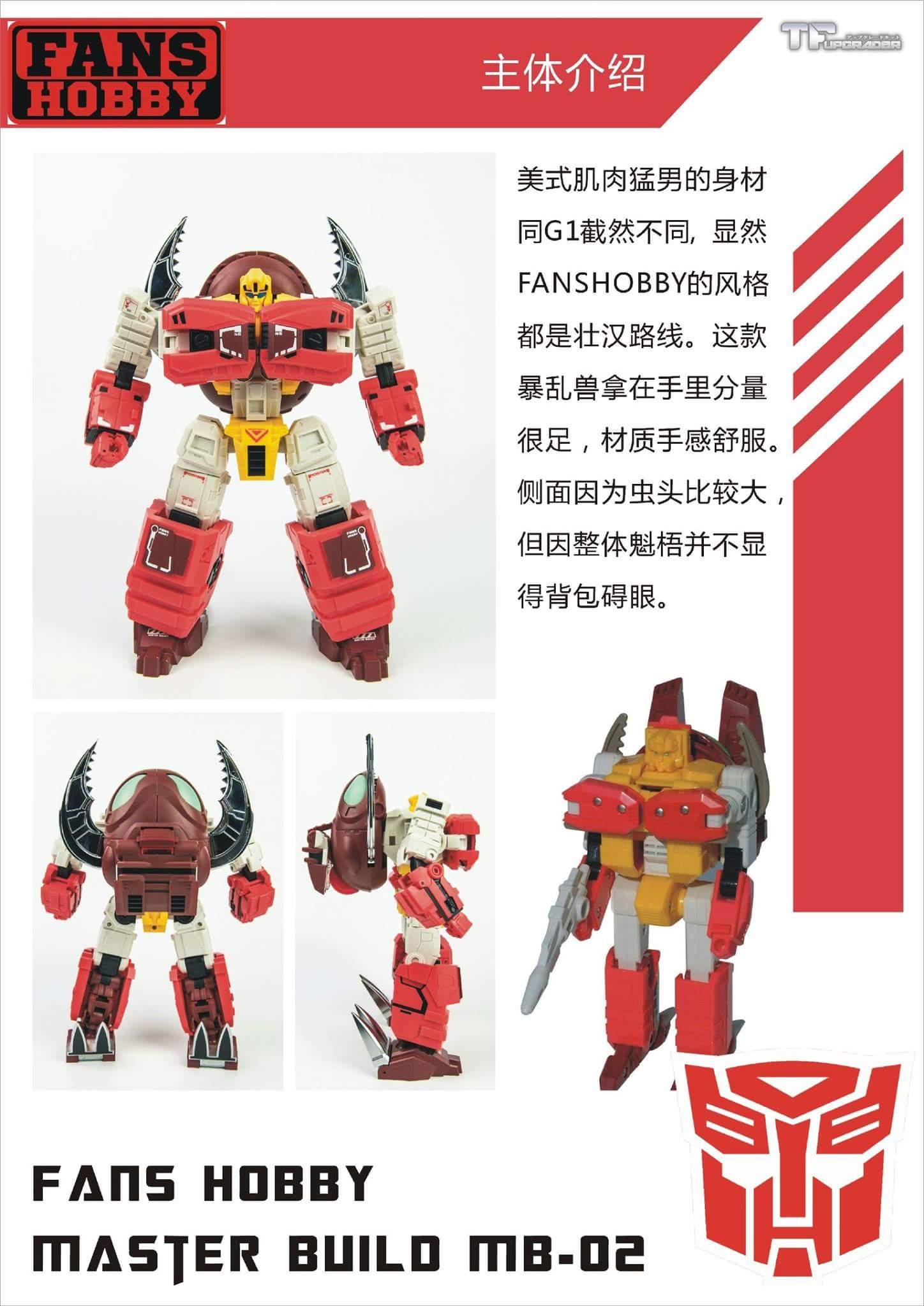 [FansHobby] Produit Tiers - Master Builder MB-02/03/05 - aka Monsterbots/Monstrebots VnidGh87