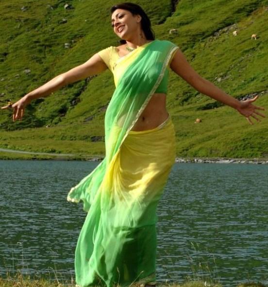 Kajal - Kajal Agarwal beautiful stills in saree AbvlbGy9