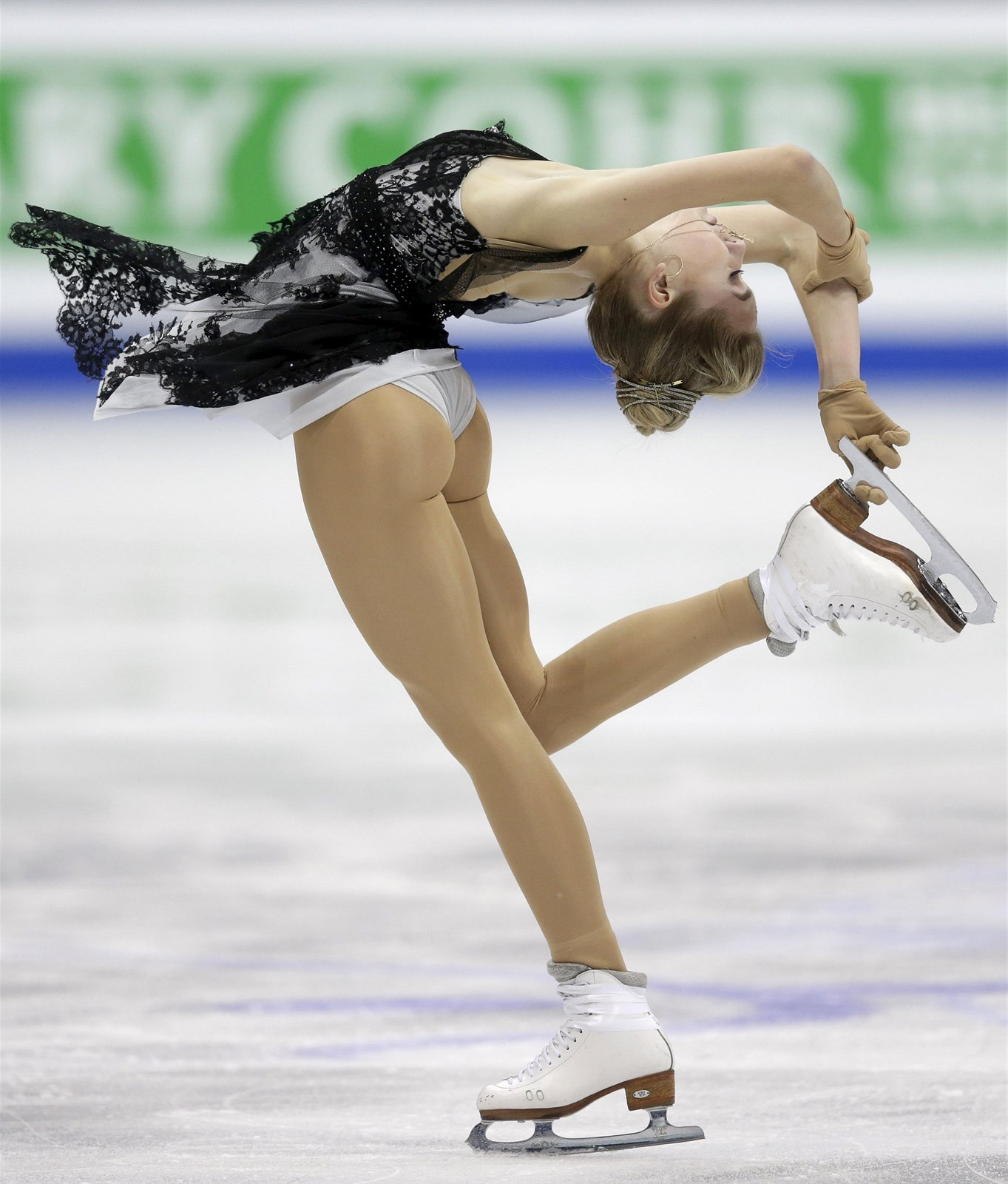 Busty olympic skaters