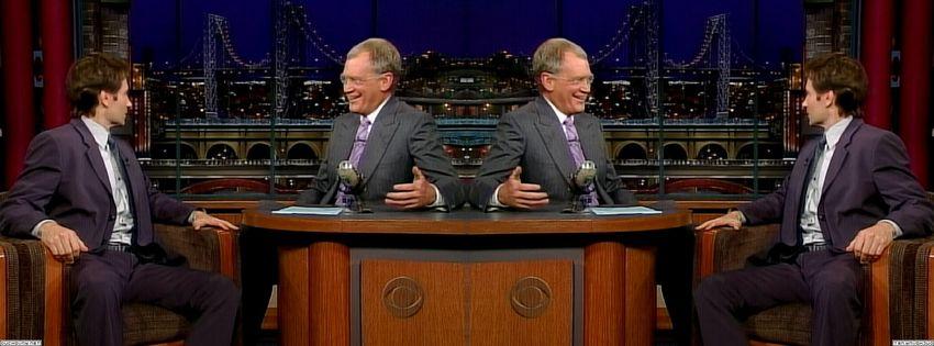 2003 David Letterman Cg5SyOEF