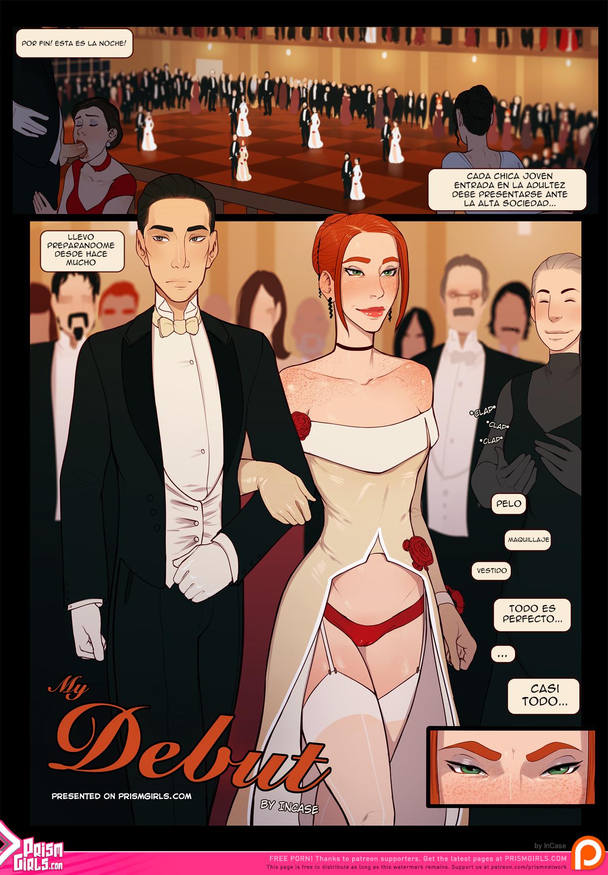 El Debut, cómic porno fantástico. 01