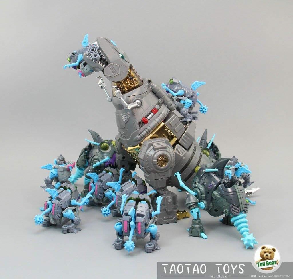 [Fanstoys] Produit Tiers - Dinobots - FT-04 Scoria, FT-05 Soar, FT-06 Sever, FT-07 Stomp, FT-08 Grinder - Page 10 8Dgvj9JO
