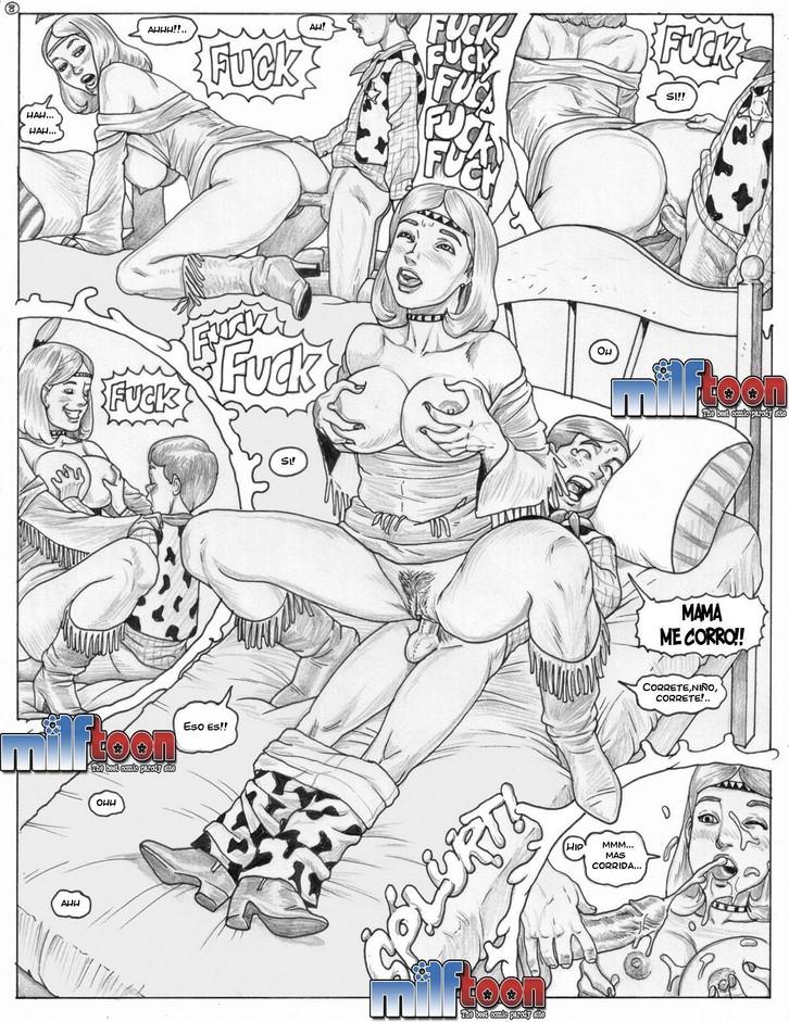 Секс комиксы с игрушками секс
