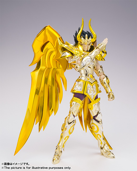 [Myth Cloth EX] Soul of Gold - Capricorn Shura Gold Cloth NmzxAdo7