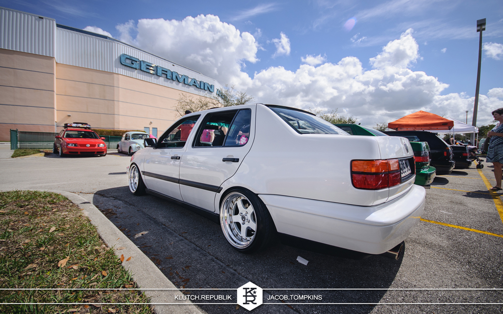 white mk3 jetta bora white 3 piece wheels