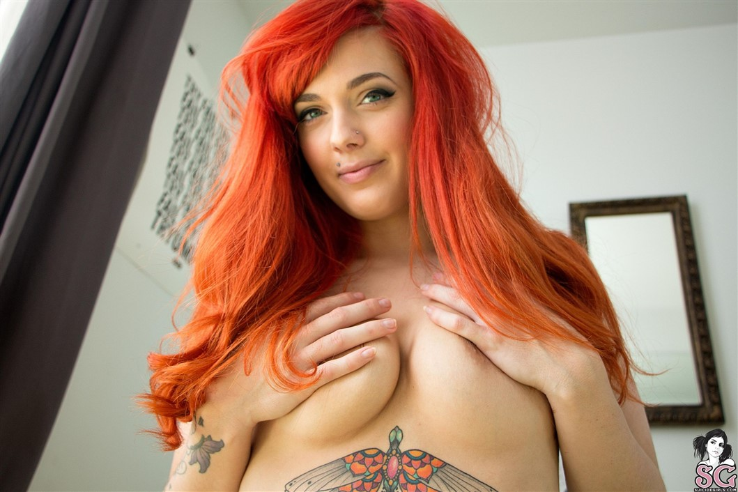 Exotic redhead ginger