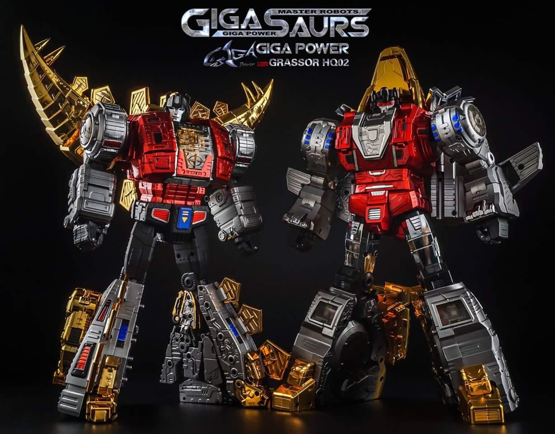 [GigaPower] Produit Tiers - Jouets HQ-01 Superator + HQ-02 Grassor + HQ-03 Guttur + HQ-04 Graviter + HQ-05 Gaudenter - aka Dinobots - Page 4 3MCIZMnS