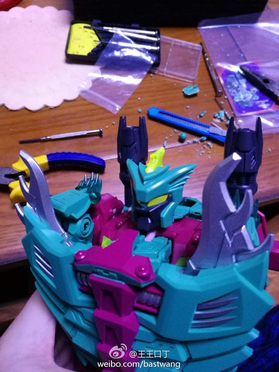 [TFC Toys] Produit Tiers - Jouet Poseidon - aka Piranacon/King Poseidon (TF Masterforce) - Page 4 CHQbKVwc