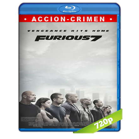 Rapido Y Furioso 7 (2015) BRRip 720p Audio Trial Latino-Castellano-Ingles 5.1