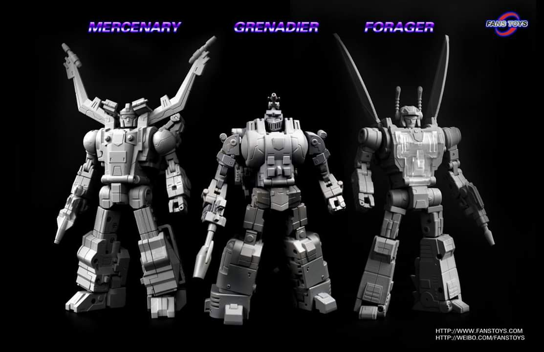 [Fanstoys] Produit Tiers - Jouet FT-12 Grenadier / FT-13 Mercenary / FT-14 Forager - aka Insecticons 6FOjDPEG