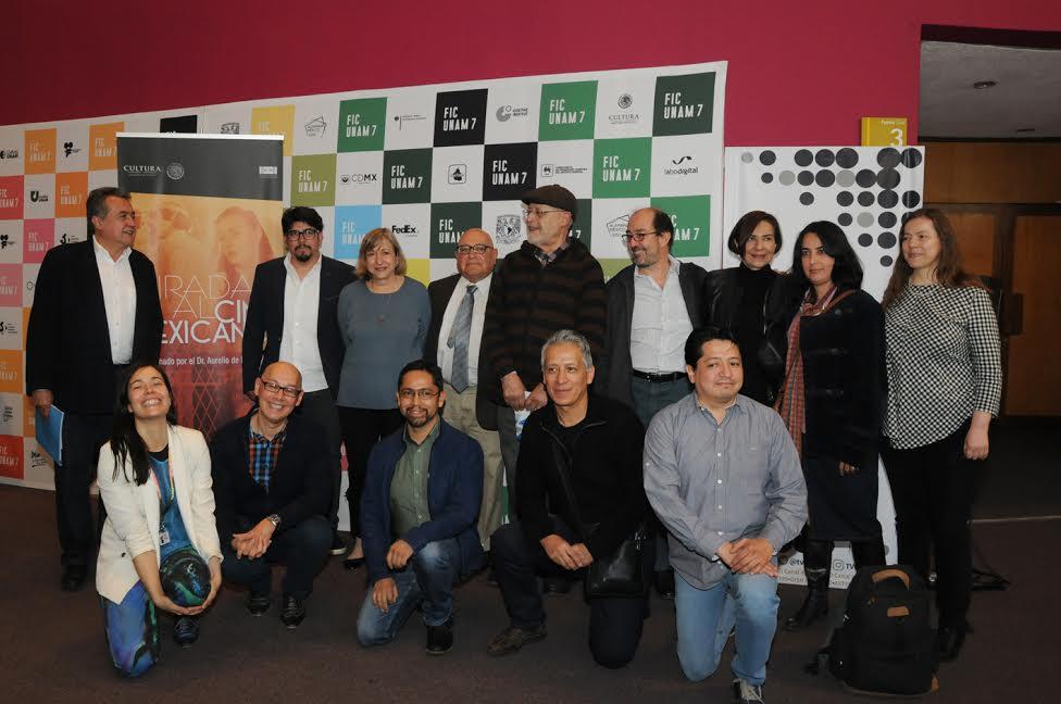 FICUNAM se presentó el libro Miradas al cine mexicano
