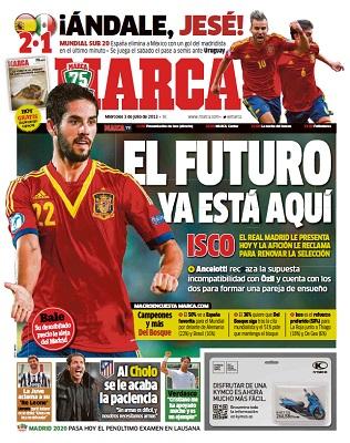 Diario Marca – Miercoles, 3 De Julio De 2013