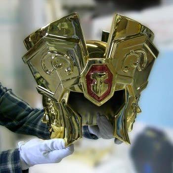 Processo de criação da Armadura de Gemeos para a exibição de Pachinko MOyVko0x