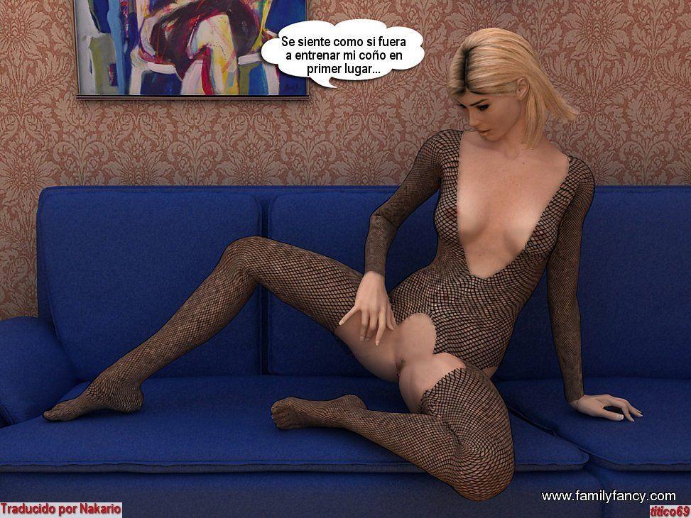 3D Pornostar Comic
