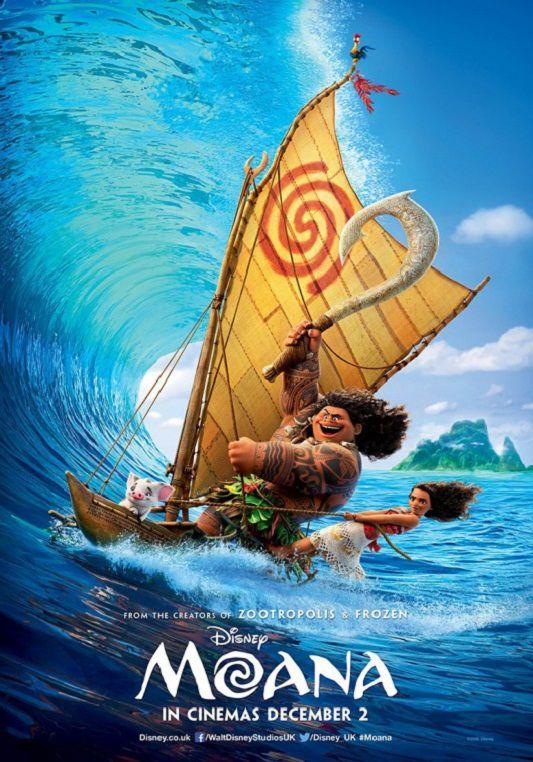 Moana: Un mar de aventuras (2016) [DVDRip Latino]